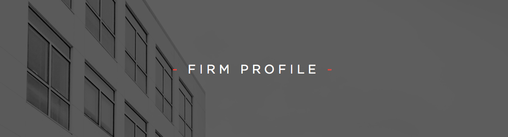 FIRM PROFILE